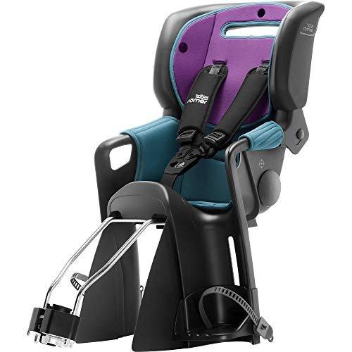 Britax R/ömer Jockey/³ Comfort Fahrradsitz 9-22 kg Kollektion 2019 turquies // purple